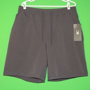 Spyder Mens Size XL Gray Stretch Casual Shorts NEW